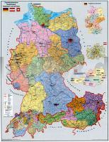 Karte Deutschland österreich.Postleitzahlenkarte Deutschland österreich Schweiz D A Ch Poster
