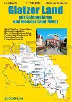 Schlesien Karte Deutsche Ortsnamen.Glatzer Land 1 100 000 Mit Eulengebirge Und Neisser Land West